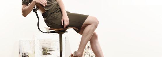 Knielange Rokken